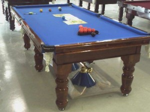 Sapphire Pool Table (blue)